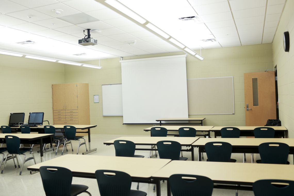 Copper Mill Elementary Classroom